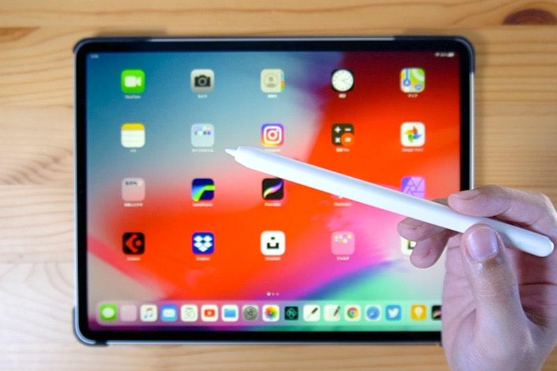 iPadでApple Pencilを使ってスクリーンショットする方法