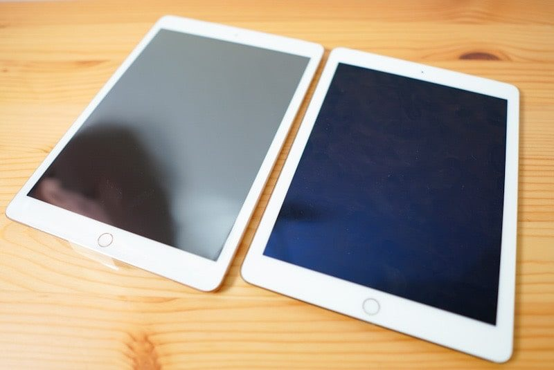 iPad 第7世代10.2インチとiPad Air2