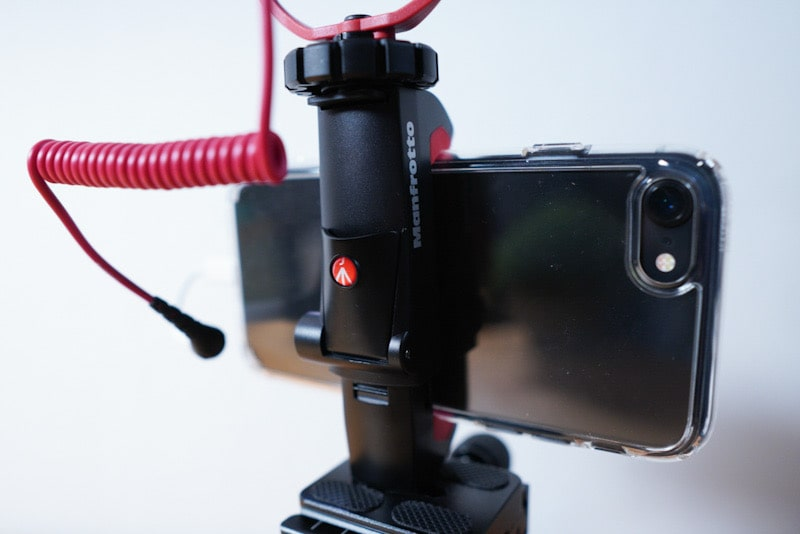 マンフロット スマートフォン用三脚アダプター使用感