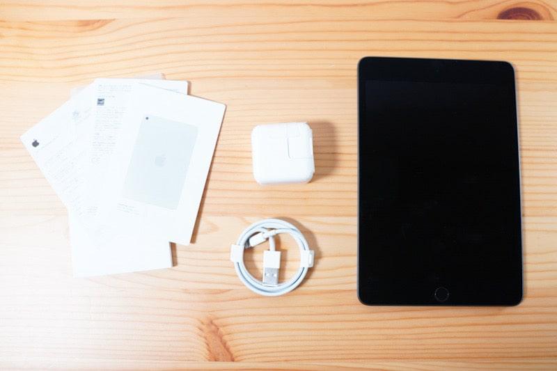 iPad mini5(整備済製品)の内容物