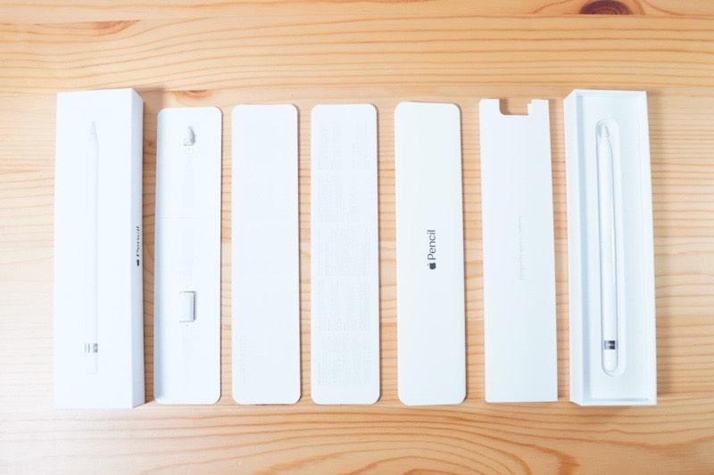 Apple Pencil第一世代の内容物