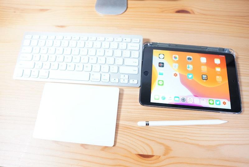 iPad mini 5をサブ機として使用
