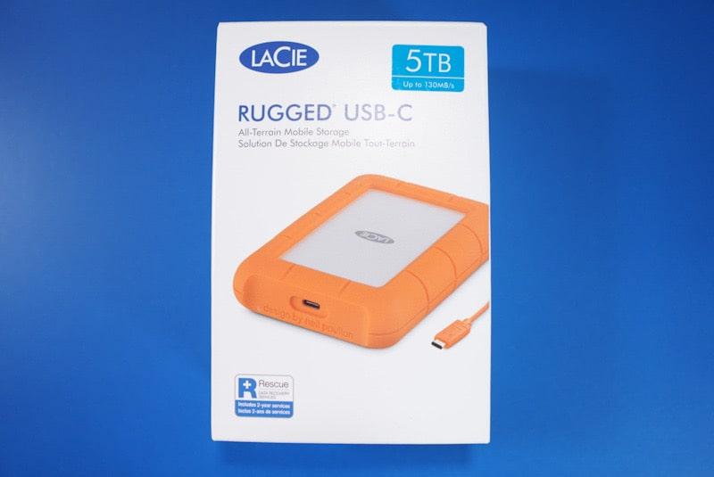 外付けストレージLaCieのHDD 5TB