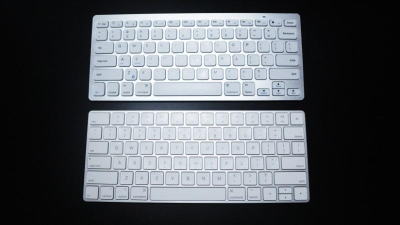 Magic KeyboardとAnkerワイヤレスキーボードの違い