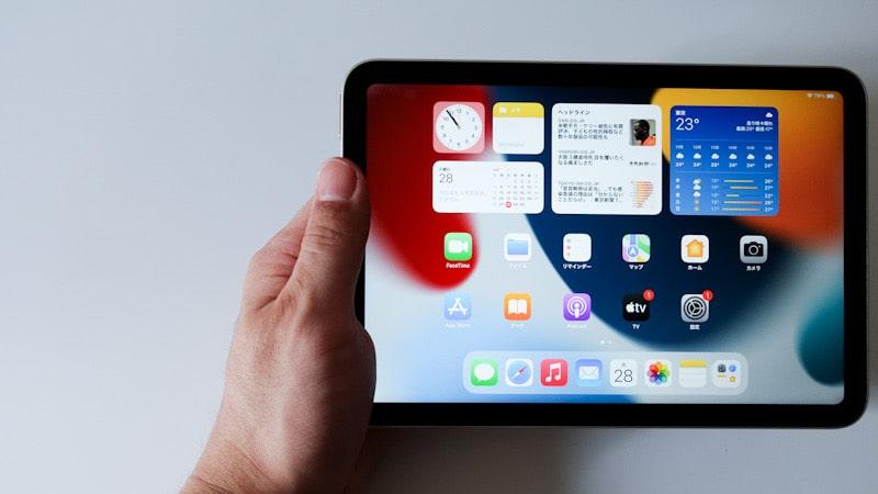 iPad mini 第6世代 2021の手持ち