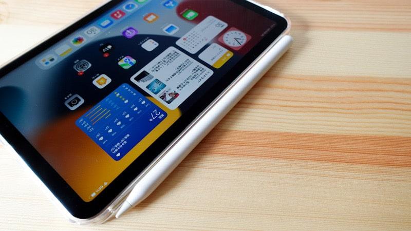 iPad mini 第6世代 2021と格安のTPU素材のケースにApple Pencil