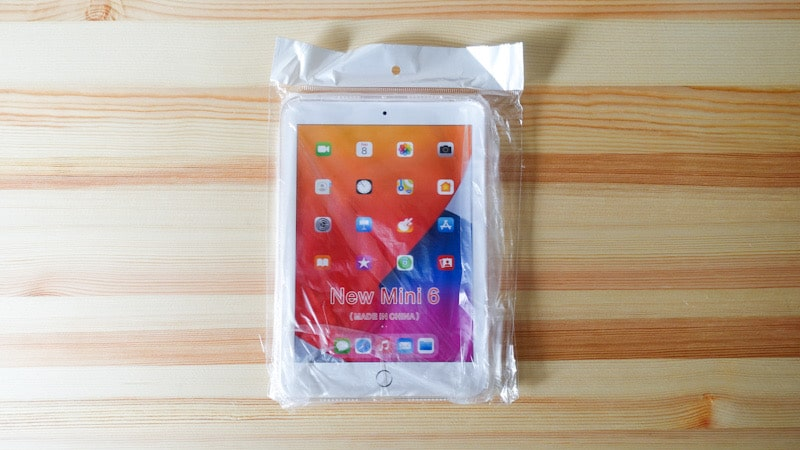 iPad mini 第6世代の格安のTPU素材のケース