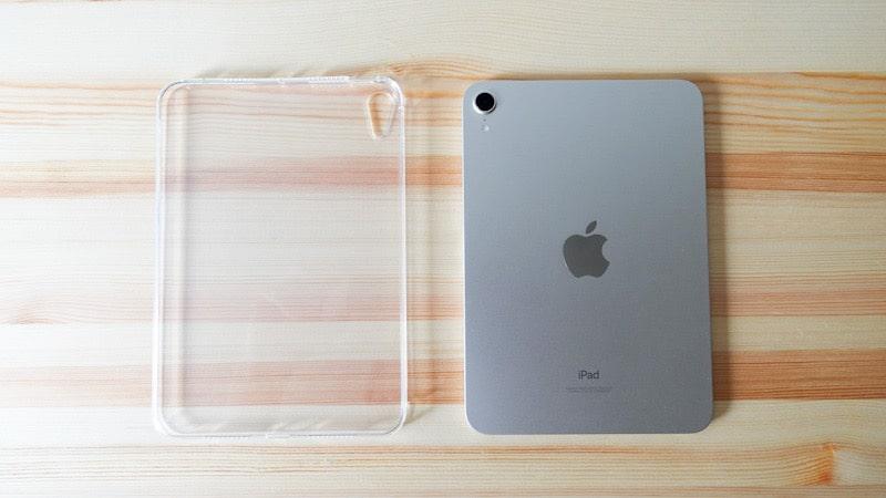 iPad mini 第6世代 2021と格安のTPU素材のケース